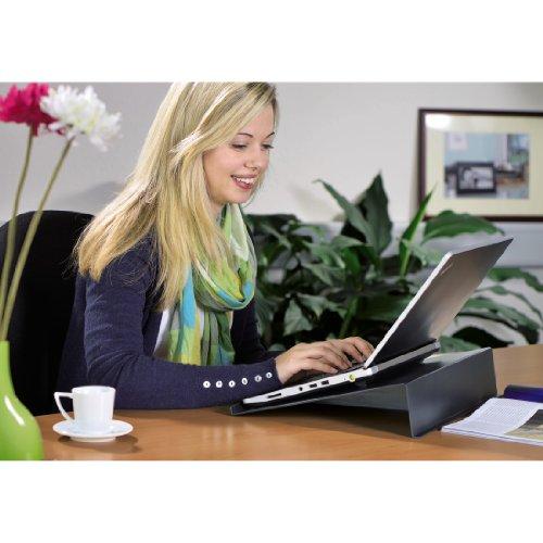 Hama Laptopunterlage in Carbonoptik