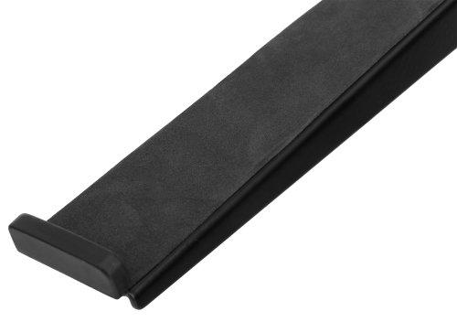 Pronomic-LS-210-Deluxe-Laptopstnder-DJ-Notebookstativ-Laptop-Stand-Hhenverstellbar-inkl-Befestigungsklammern-zustzliche-Ablageflche-ideal-fr-DJs-Musiker-Material-Stahl-Schwarz-0-3Pronomic Deluxe Laptopständer