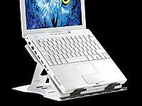 General Office Notebook-Ständer aus Aluminium mit Drehteller