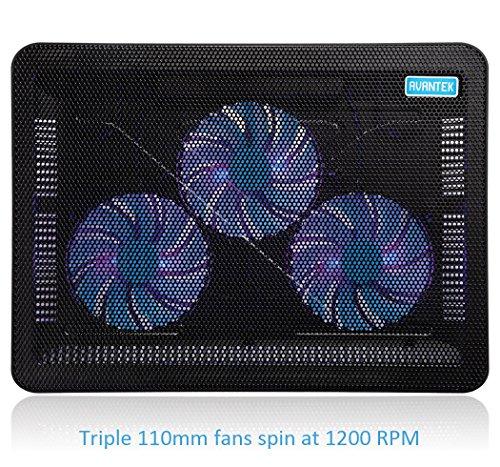 AVANTEK 17 Zoll Laptop Kühlpad mit Lüftern