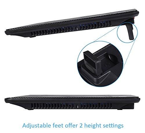 AVANTEK Notebook Kühlmatte mit Dual Lüfter