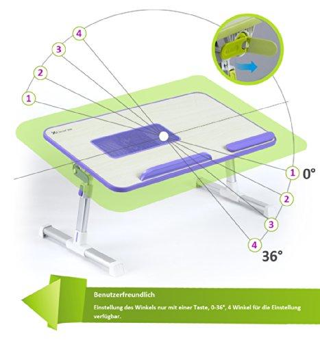 Laptoptisch mit USB-Lüfter